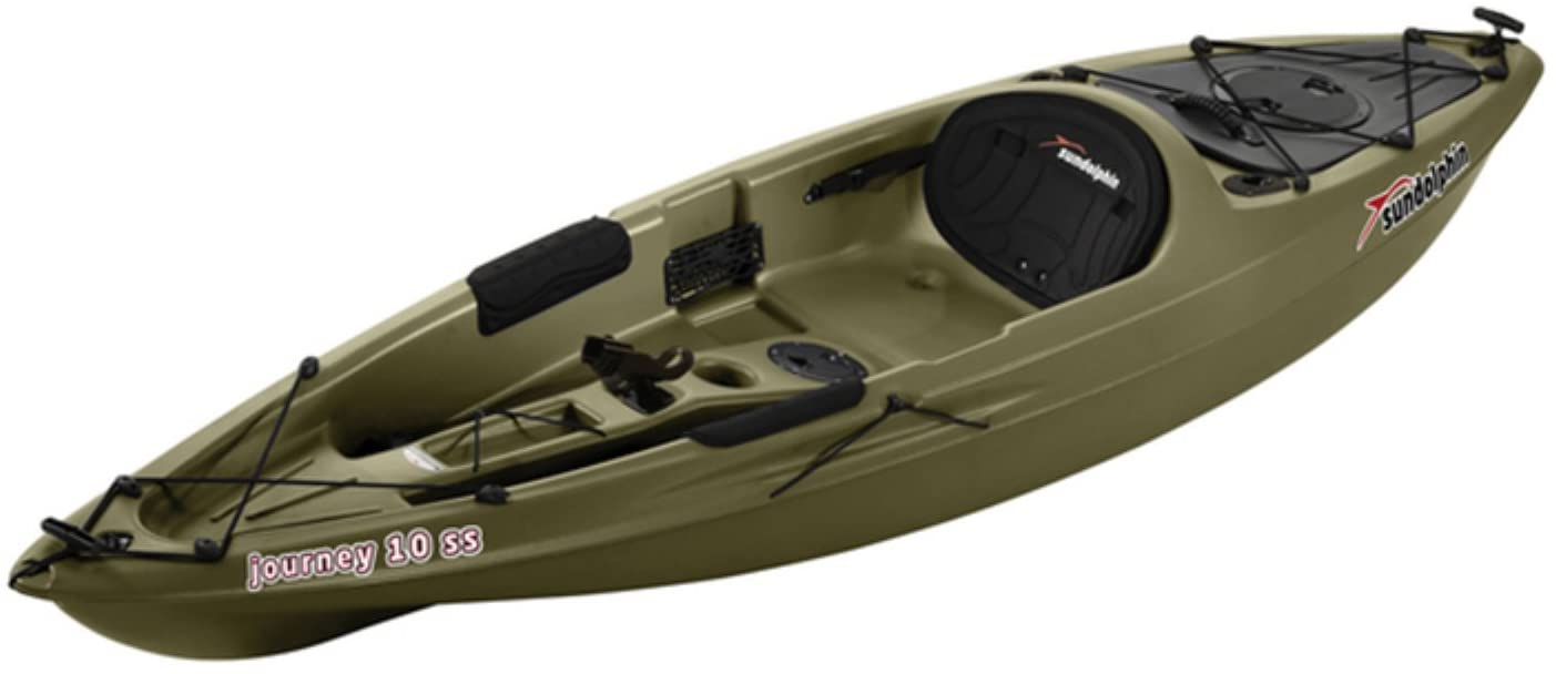 A Sun Dolphin 10 Foot Kayak
