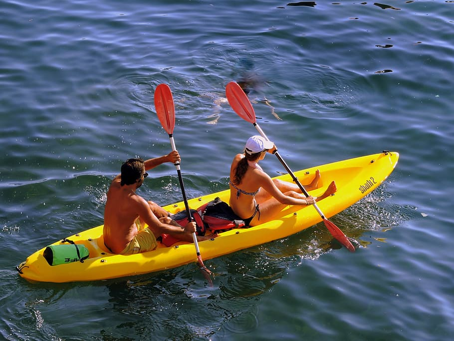A Sit-On Kayak